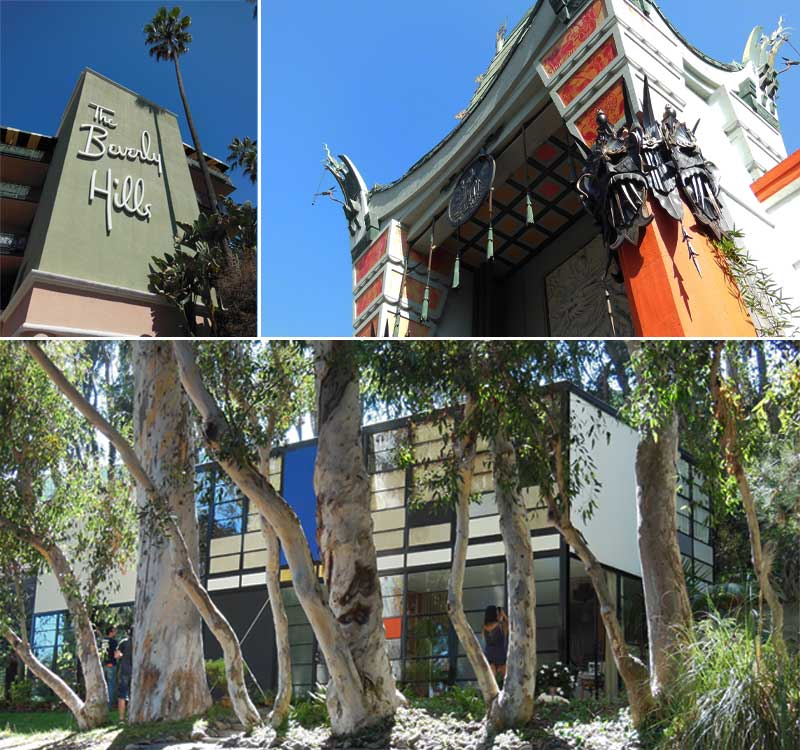 Los Angeles-Beverly Hills, Graumans, Eames House
