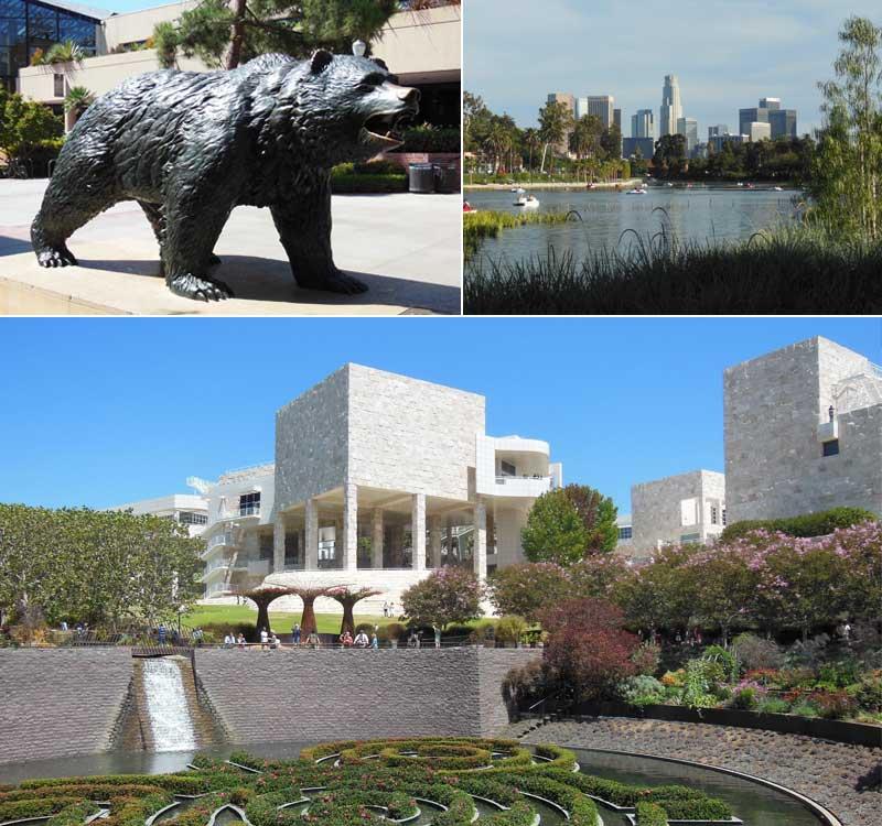 Los Angeles-Getty Center,Echo Park, UCLA