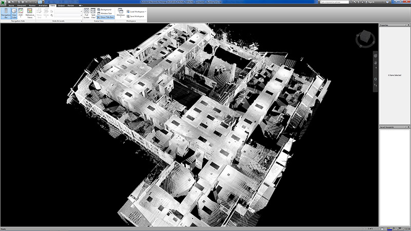 point-cloud-in-navisworks
