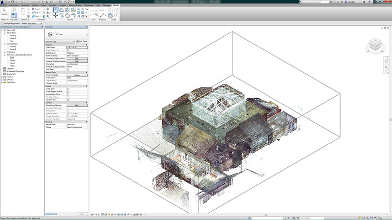 point-cloud-in-revit